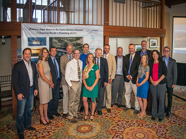 Speakers and participants in the Protecting Blue Whales and Blue Skies Forum