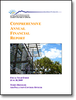 2008-2009 Comprehensive Annual Report - APCD